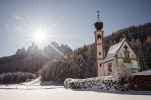 Villnöstal, Geisler, Südtirol, Kirche Sankt Johann