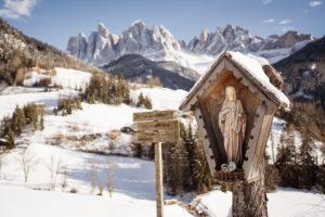 Villnöstal, Geisler, Südtirol, Madonna, Santa Magdalena
