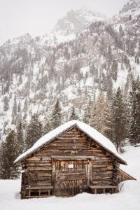 Villnöstal, Geisler, Südtirol, Bergbauernhöfe