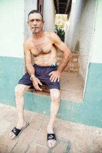 Mann, Zigarre, Cuba