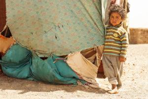 Junge einer Nomadenfamilie, Sahara
