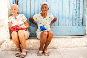 Ladies, Havana, Cuba