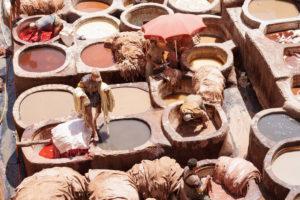 Dyeing, Fez