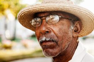 Cuba, man, portrait