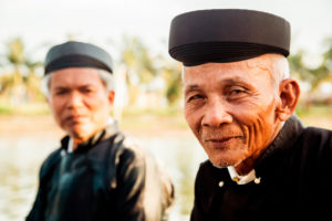 Geistliche, Mönche in Vietnam