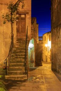 Pitigliano, Toskana, Italien