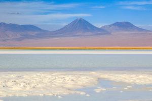 Laguna Tebenquiche, Atacamawüste, Chile, Südamerika