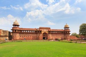 Agra Fort, Rotes Fort, Agra, Uttar Pradesh, Indien