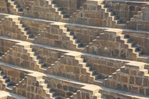 Stepwell Chand Baori Abhaneri, Rajasthan, India