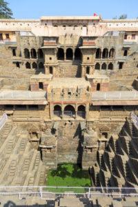Stufenbrunnen Chand Baori Abhaneri, Rajasthan, Indien