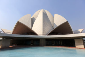 The Lotus Temple,one of the seven Baha'i Temple in Bahapur,New Delhi,Delhi,India