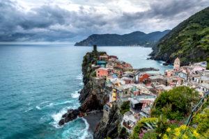 Vernazza, Cinque Terre, La Spezia, Ligurien, Italien