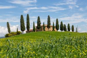 I Cipressini, Pienza, Tuscany, Italy