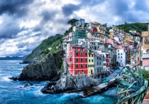 Riomaggiore, Cinque Terre, La Spezia, Ligurien, Italien