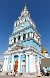 Cathedral of the Assumption of the Virgin, Russian Orthodox Church, Tashkent, Uzbekistan