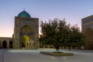 Poikalon complex, Bukhara, Uzbekistan