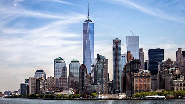 America, United States, New York City, Skyline, One World Trade Center