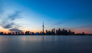 Canada, Ontario, Toronto, skyline