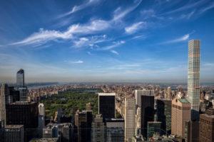America, USA, New York City, Manhattan, Central Park view