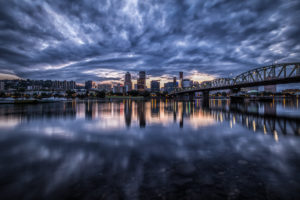 USA, Oregon, Portland, Skyline