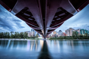 Canada, Alberta, Calgary, Peace Bridge