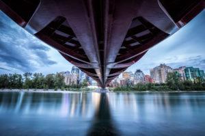 Kanada, Alberta, Calgary, Peace Bridge