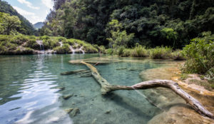 Central America, Quatemala, National Park, Semuc Champey