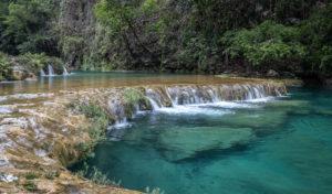 Central America, Quatemala, National Park, Semuc Champey