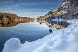 Germany, Bavaria, Allgäu, Alpsee