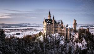 Deutschland, Bayern, Allgäu, Schloss Neuschwanstein