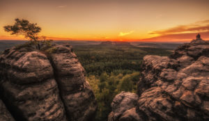Germany, Saxony, Saxon Switzerland