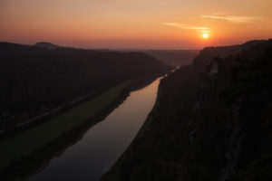 Germany, Saxony, Saxon Switzerland, Wehlen