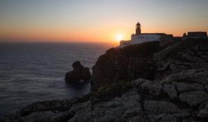 Portugal, Algarve, Faro, Leuchtturm