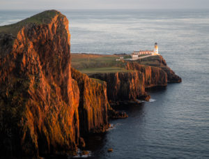 Great Britain, Scotland, Highlands, Isle of Skye, Neist Point Lighthouse