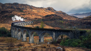 Scotland, Highlands, Glenfinnan Viaduct