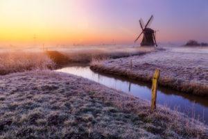The Windmill near Sande in the village Neustadtgoedens