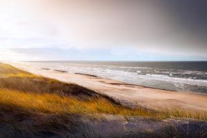 Dunes at Hvide Sande beach