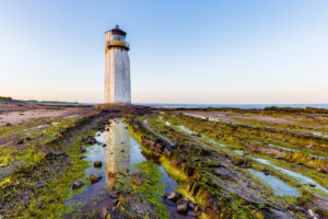 Southerness Lighthouse is the second oldest Lighthouse in Scotland
