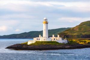 Eilean Musdile Lighthouse on Lismore