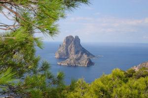 Ibiza, Spain, Landscape, Es Vedra,