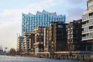 Elbphilharmonie at HafenCity, Hamburg, Germany