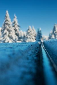 Brocken Railway, Winter Landscape, Brocken, Harz, Germany