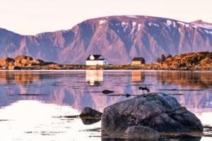 Europe, Norway, Vesterålen, Nordland, Langøya, Strengelvåg