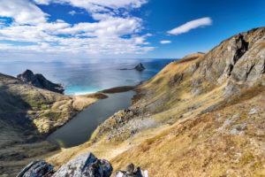 Europe, Norway, Vesterålen, Nordland, Bleik, Måtind beach
