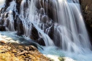 Europe, Norway,  Nordland, waterfall