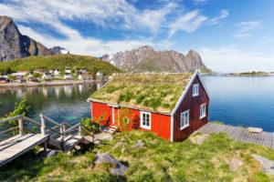 Europe, Norway,  Nordland, Lofoten, Reine