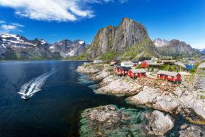 Europe, Norway,  Nordland, Lofoten, Hamnøy