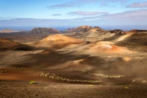 Europe, Spain, Canary Islands, Lanzarote, Timanfaya National Park