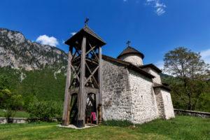 Europe, Montenegro, Mojkovac Municipality, Mojkovac, Dobrilovina Monastery