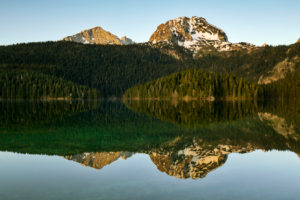 Europe, Montenegro, Žabljak Municipality, Dumitor National Park, Žabljak, Crno Jezero